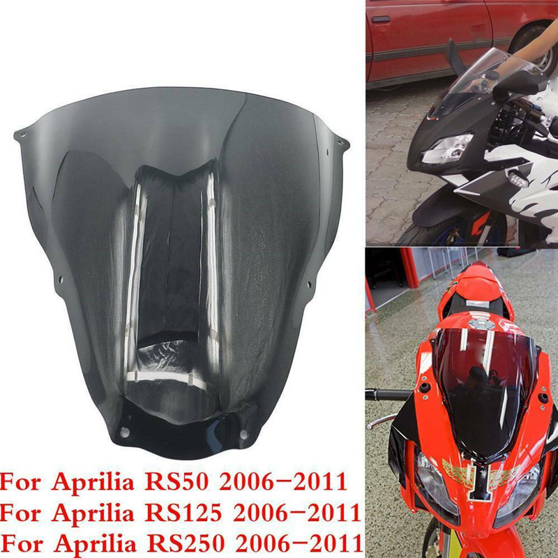 Motorcycle Windscreen Windshield Wind Shield Screen For APRILIA RS50 RS125 RS250 RS 50 125 250 2006 2007 2008 2009 2010 2011