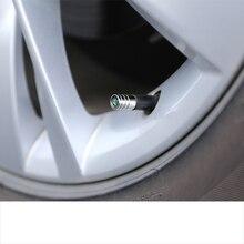 Lsrtw2017 Zinc Alloy Car Wheel Tire Valve Cap for Skoda Kodiaq Karoq Interior Mouldings Accessories