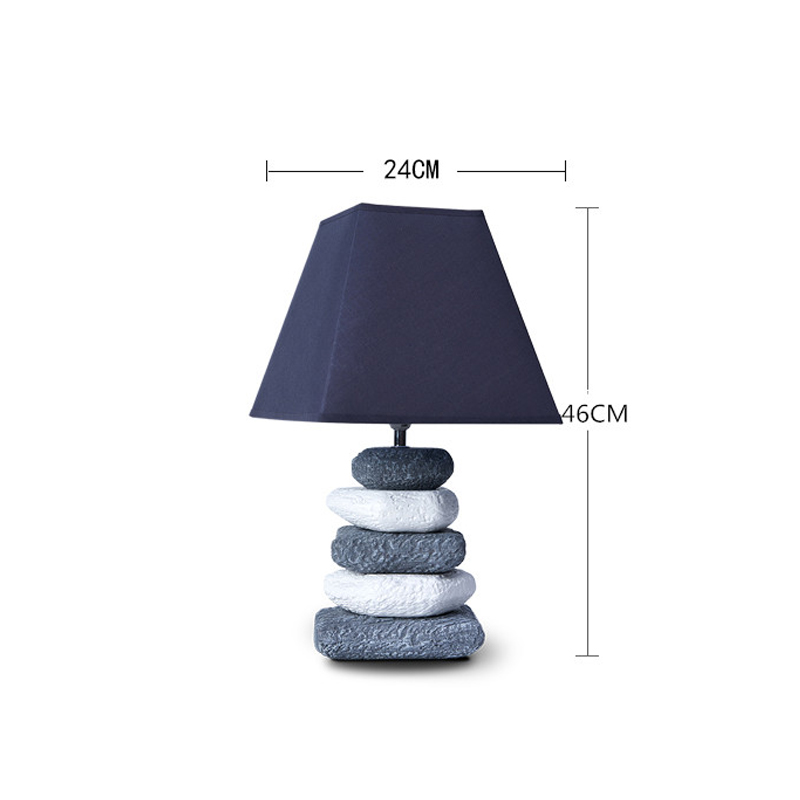 Modern Ceramic Fabric LED Table Lamp For The Bedroom Home Deco Table Light Fixture Bedside Living Room Restaurant Loft Desk Lamp