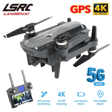LSRC K20 Drone GPS 5G HD 4K caméra professionnelle 1800m Transmission dimage moteur sans brosse pliable quadrirotor RC Dron jouet cadeau