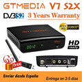 Hot sale GTmedia V7 S2X Satellite Decoder With USB WIFI Gtmedia V7S2X Update by Gtmedia V7S HD H.265 1080P No app include