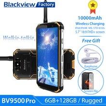 """BLACKVIEW BV9500 פרו IP69K מכשיר קשר 5.7 """"18:9 FHD Smartphone אנדרואיד 8.1 6 + 128GB 10000mAh אלחוטי טעינה נייד טלפון NFC"""