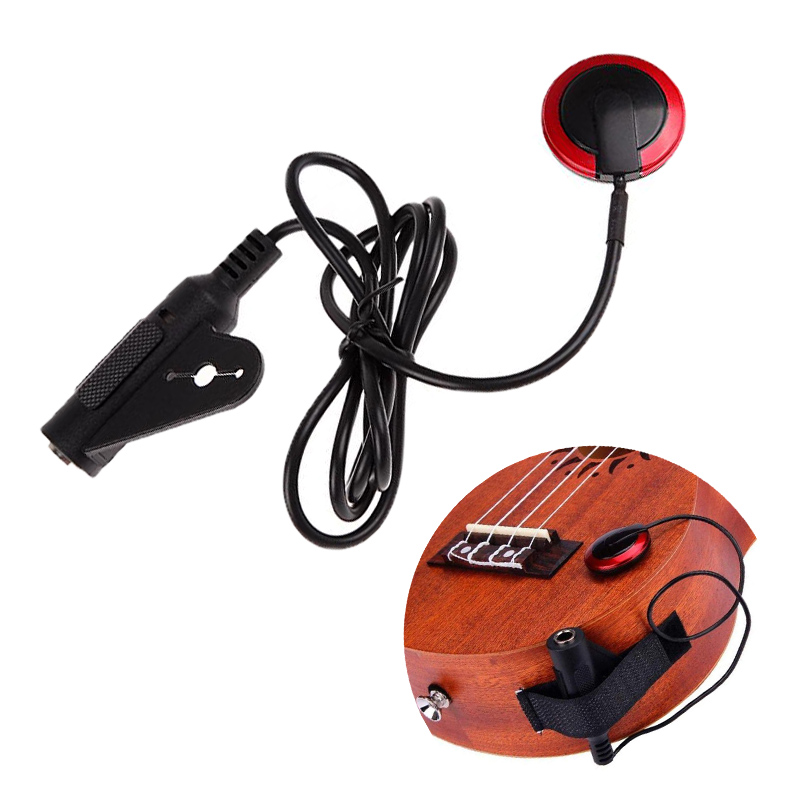 Captador de guitarra profissional piezo contato microfone captador para guitarra violino banjo mandolin ukulel acessórios da guitarra-0
