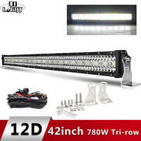 CO LICHT 12D High Power 3-Reihe Led Bar Offroad 12V 390W 585W 780W 936W 975W Combo Strahl 4x4 Arbeit Licht Bar für Lkw ATV SUV Boot