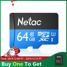 Netac Micro SD Card 64GB 128GB 256GB UHS 1 Memory Card 64 128 256 GB 4K Video U3 V30 Flash SDCard Smartphone TF Card For Monitor(China)