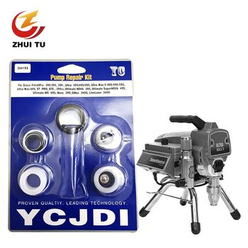 Airless Sprayer Seal Set Paint Repair Kits Spare Part Pad Easily Use Removed Universal