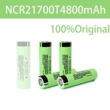 Bateria recarregável 21700 mah 4800 v 40a da alta-descarga da bateria do li-íon do alto-dreno da bateria do lítio de 3.7 ncr21700t