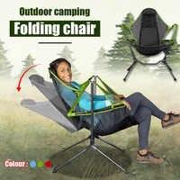 Sillas para acampar y pescar plegables, ultraligeras de lujo, cómodas, con reposacabezas ajustable, Instalación rápida