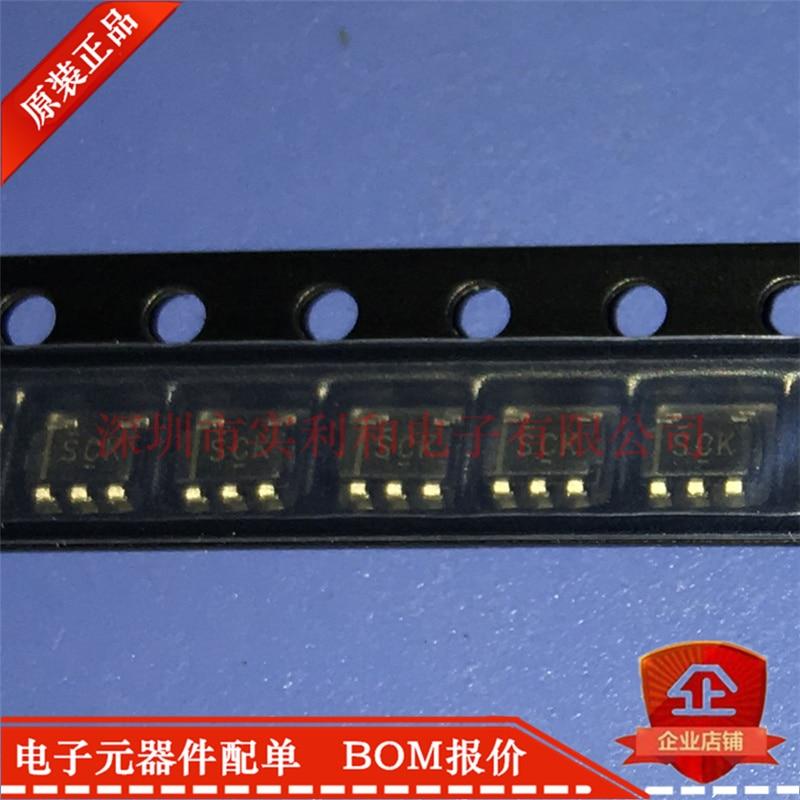 100% Original novo Em Estoque TLV70245DBVR TLV70245DBVT Marcação SCK SOT23-5 10 pçs/lote