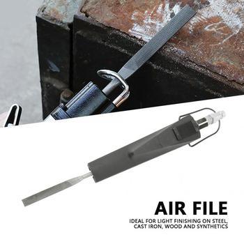 цена на Pneumatic Air Powered File Grinding Polishing tool 1 Flat Cut 1 Half Round 1 Round & 1 Triangular File Domestic Delivery