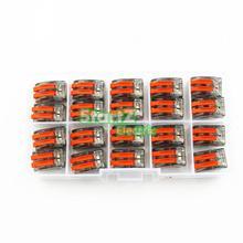 20 шт прозрачный провод разъем цепи 2pole клеммной колодки 400V 32A