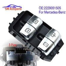 Interrupteur de commande principal de vitre électrique, pour mercedes benz W222 S550e S600 S63, 2229051505