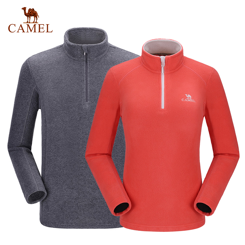 CAMEL Softshell Fleece Windbreakers Jacket Snowwolf Outdoor Shirt Women Men Coat Winter Hiking Camping Plus Size title=