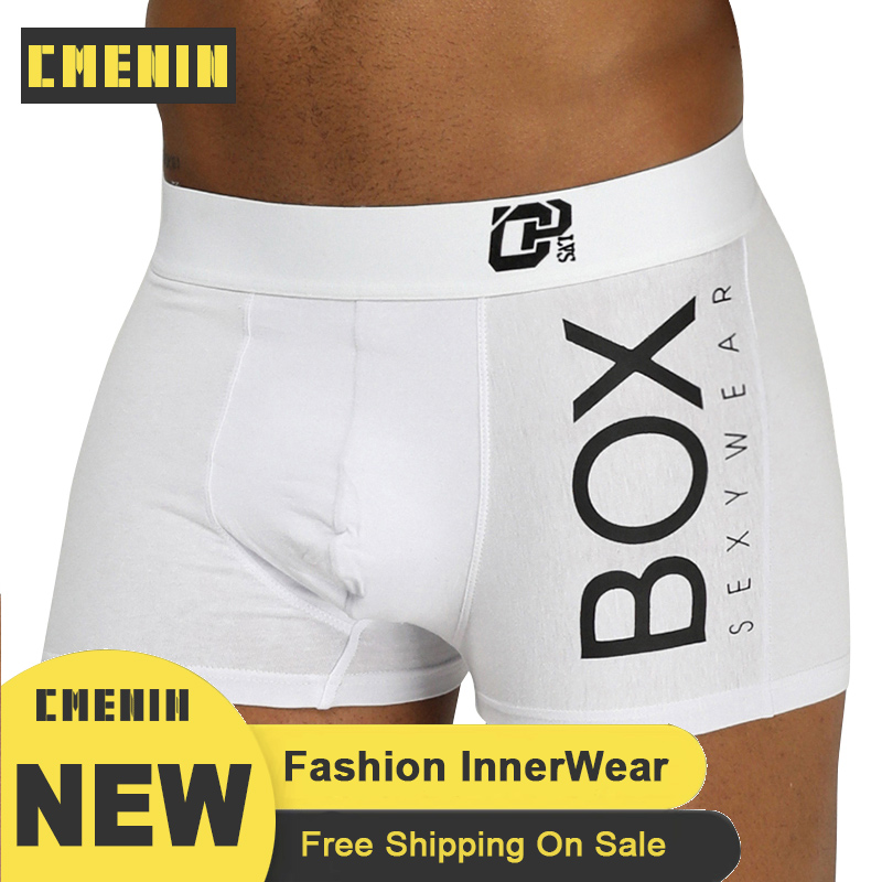 ORLVS Man Sexy Underwear Men Boxer Shorts Mens Cotton Male Boxershorts OR212 Gay Boxer Para Hombre Breathable Long