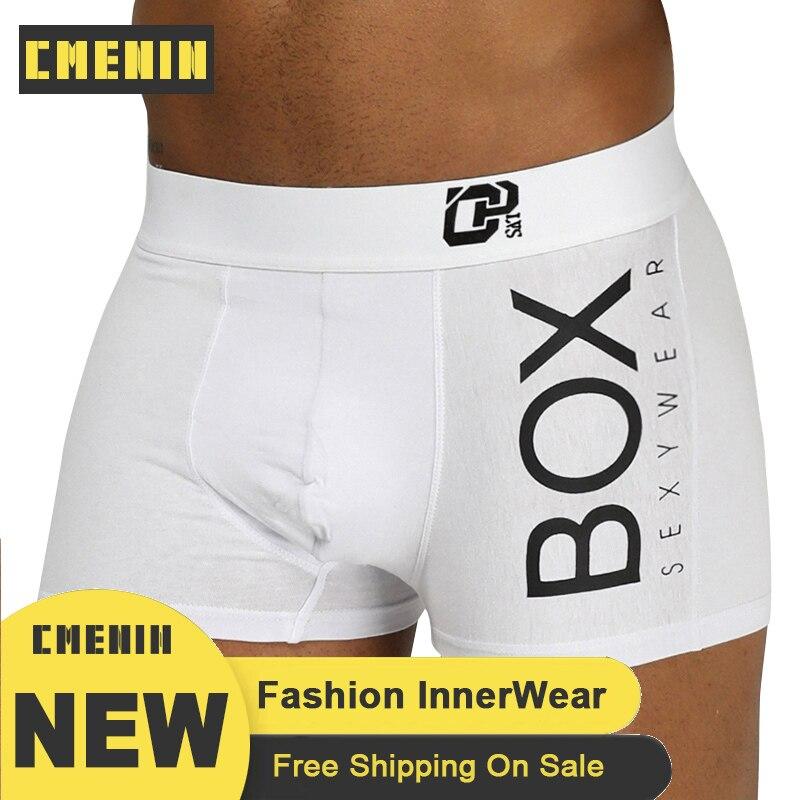 ORLVS Man Sexy Underwear Men Boxer Shorts Mens Cotton Male Boxershorts OR212 Gay Boxer Para Hombre Breathable Long