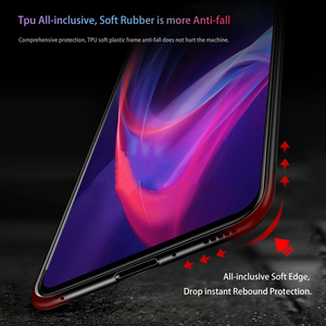 Image 5 - Luxury Glass Case For Redmi 7A Case 9H Tempered Glass Silicone Cover Hybrid Bumper Back phone Cover For Xiaomi Redmi 7 Case