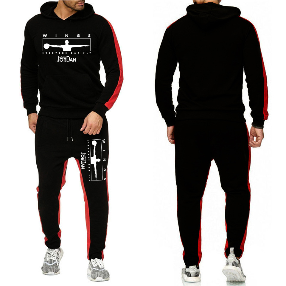 Large Size MEN'S Casual Suit Korean-style Couples Youth Hoodie Outdoor Skirt Men'S Wear Sports Clothing
