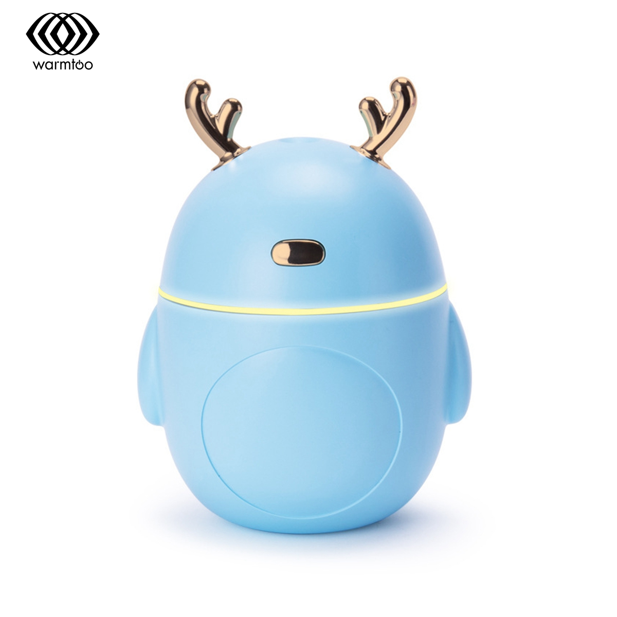 Warmtoo Mini Air Humidifier For Home Car USB Bottle Aroma Diffuser LED Backlight Office Mist Maker Refresher Humidification