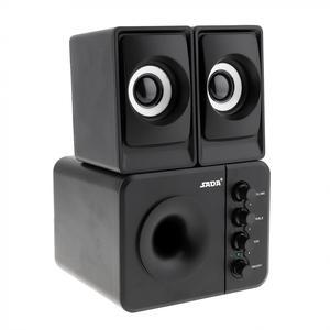 Image 4 - D 205 USB2.0 Subwoofer Computer Speaker with 3.5mm Audio Plug and USB Power Plug for Desktop PC / Laptop / MP3 / Cellphone / MP4