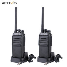 2 шт retevis rt24 pmr Радио рация без лицензии 05 Вт uhf 446