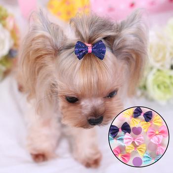 5 sztuk śliczny piesek spinki do włosów akcesoria dla psów mały szczeniak włosy kota klip akcesoria do włosów dla zwierząt domowych pies pielęgnacja włosów akcesoria dla kotów tanie i dobre opinie CN (pochodzenie) Other