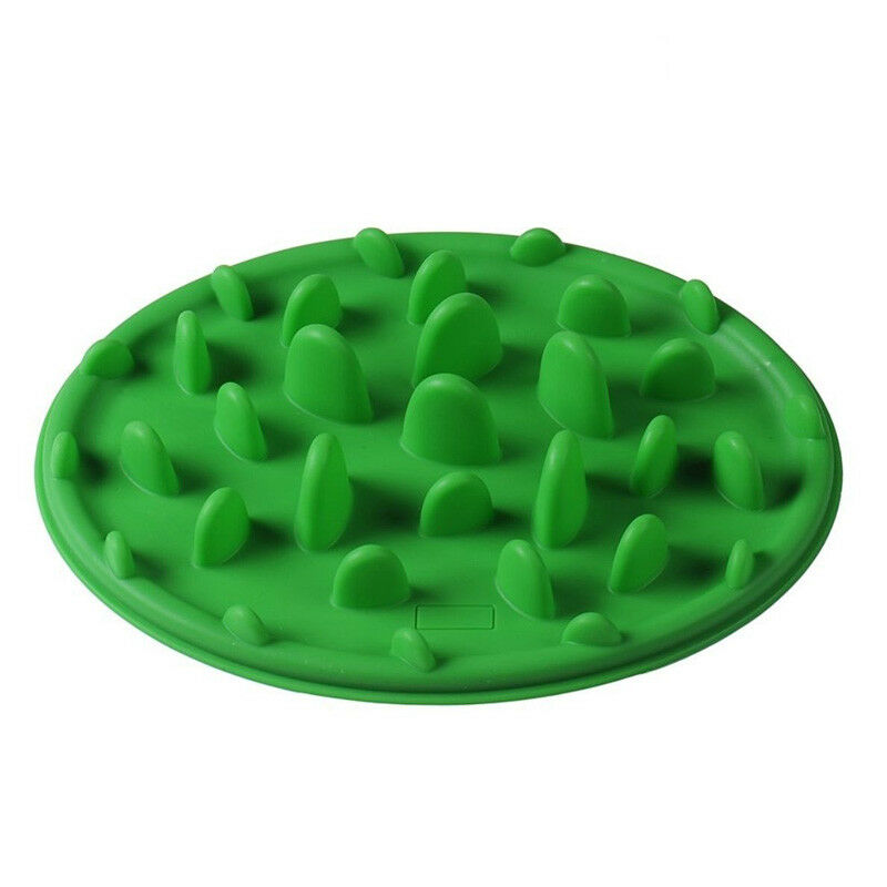 Eating Bowl Pet Puppy Dog Cat Slow Feeder Anti Slip Choke NoGulp Bloat Water Bowl Feed Dish