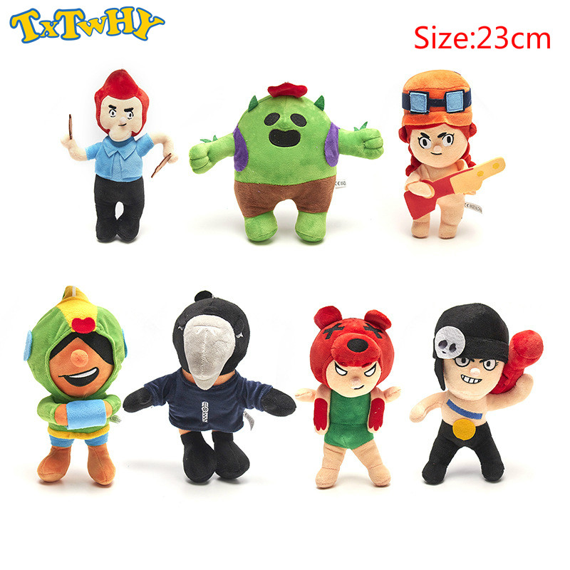 8 Styles 23cm Anime Game Spike Model Doll Plush Stuffed Toy Cactus Soft Stuffed Toys For Children Kids Christmas Gift