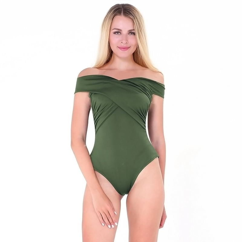 Women One Pieces Bodysuits Solid Playsuits Off Shoulder Jumpsuits Casual Slim Bodysuits Rompers Sexy Jumpsuits Women Clothes