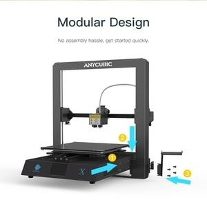 Image 4 - Anycubicメガ × メガシリーズ300*300*305ミリメートル3Dプリンタ大プラス印刷サイズmeanwell電源供給ウルトラベースimpresora 3d