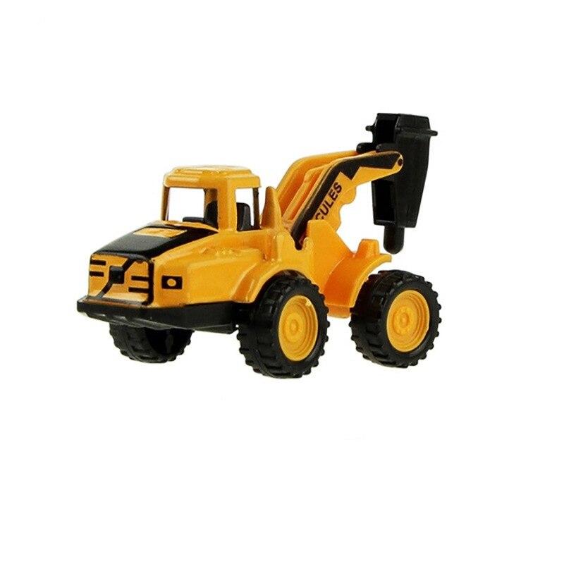 8 видов стилей мини-инженерный автомобиль трактор игрушка самосвал Модель классическая игрушка сплав автомобиль детские игрушки инженерный автомобиль - Цвет: Type 6