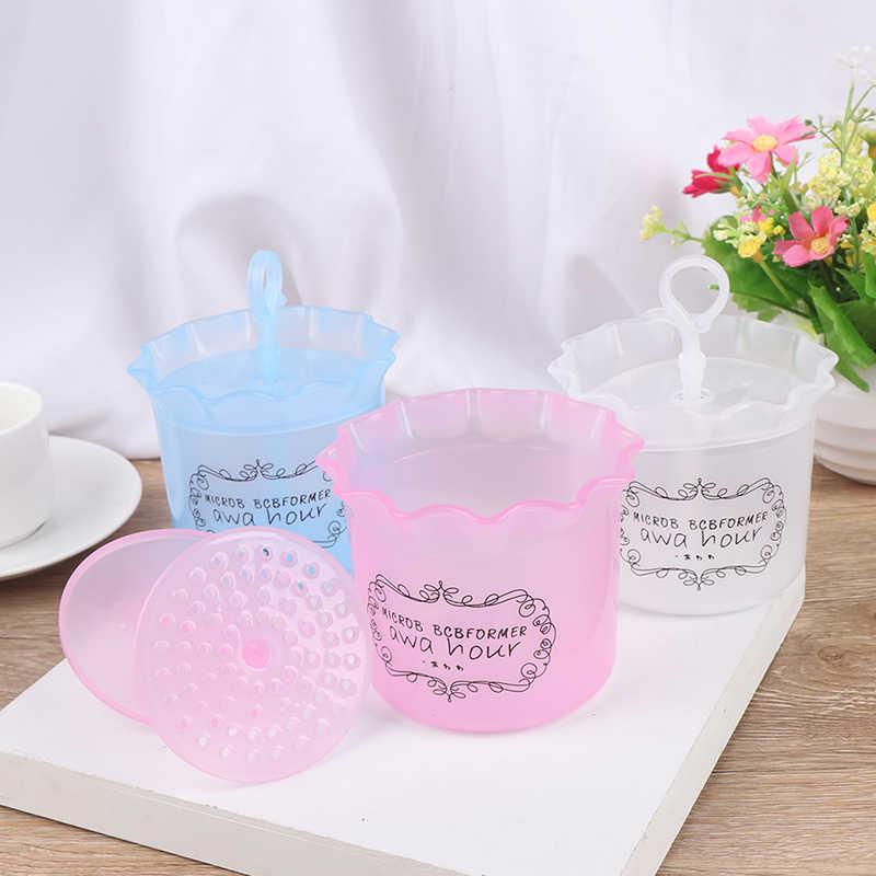 シンプルな顔クレンザーシャワー浴シャンプー泡メーカーバブルフォーマデバイスクレンジングクリーム発泡クリーンツール