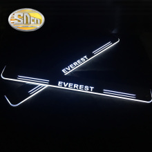 4pcs For Ford Everest 2016 2017 2018 2019 Acrylic Moving LED Welcome Pedal Scuff Plate Pedal Door Sill Pathway Light waterproof acrylic moving led welcome pedal car scuff plate pedal door sill pathway light fit for everest 2016 2017 2018