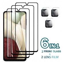 Gehard Glas Voor Samsung Galaxy A12 Screen Protector Glas Voor Samsung M12 Camera Film Voor Samsung A12 A42 5G beschermende Glas