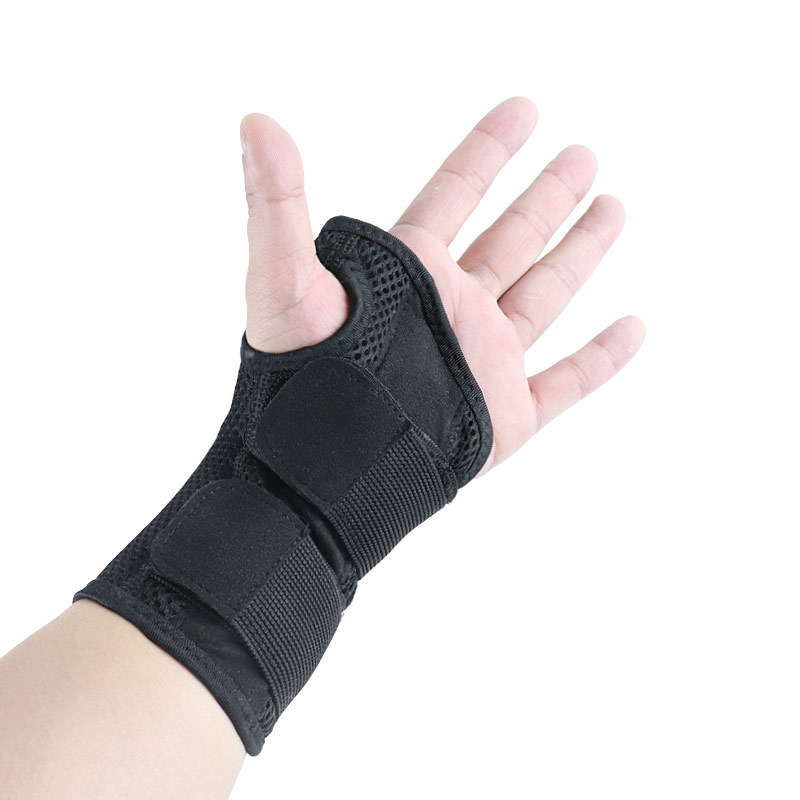 Two-Way Pressure Stable Support Steel Plate Bracer Fracture Men And Women Mouse Hand Sprain Bracer Breathable Adjustable