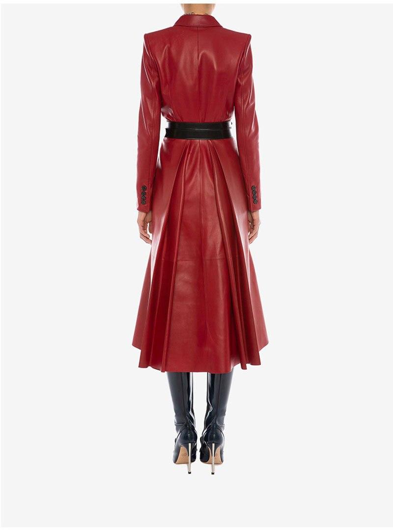 blusão jaquetas de couro fino feminino wj963 kj3572