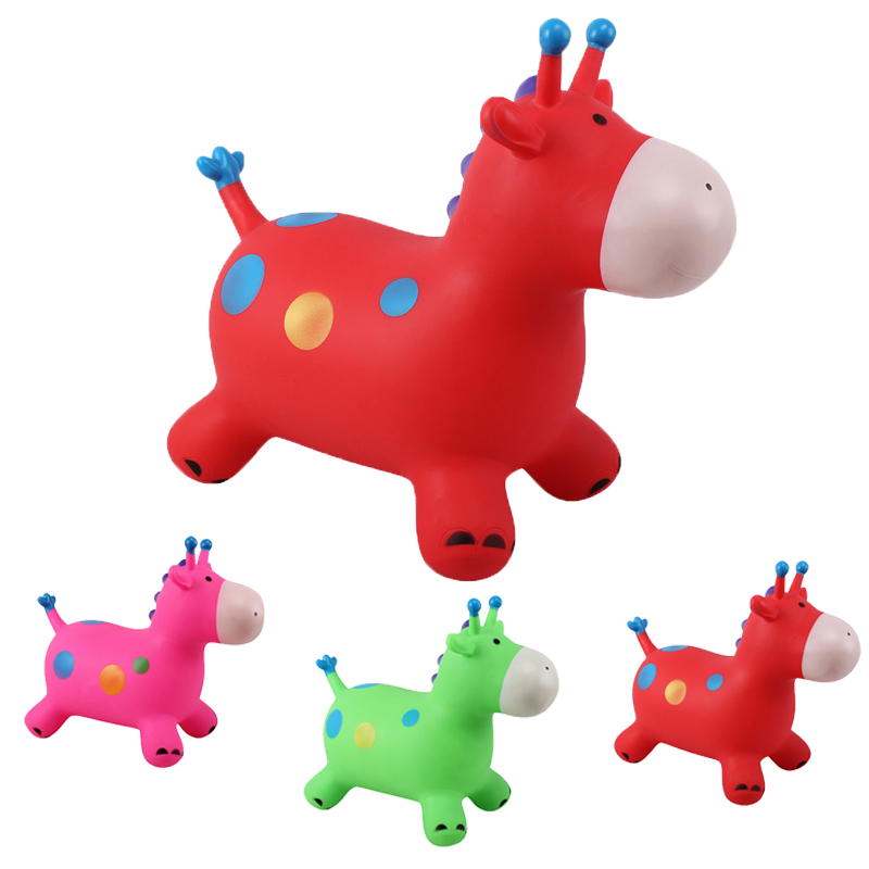 Animals Jumping Horse Riding infantil Baby Kids Stick Horses inflatable outdoor indoor funing toys