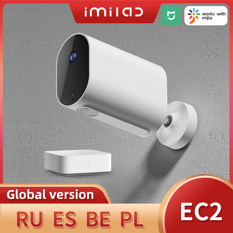 IMILAB Mihome Security Camera 3MP Ip Camera Wireless Wifi 2.4G Infrared Night Vision IP66 Waterproof Outdoor Surveillance Camera