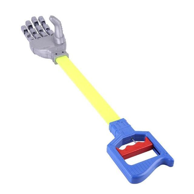 56cm Robot Claw Hand Grabber Grabbing Stick Kid Boy Toy Robot Hand Wrist Strengthen DIY Robot Grab Toys 5