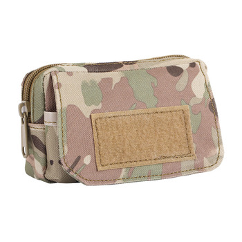 Military Travel Sports Bag Mini Pouch Army Molle Pocket Utility Belt Pouch Mess Bag for Outdoor Sports new tactical military hunting small utility pouch pack army molle cover scheme field sundries bags outdoor sports mess briefcase