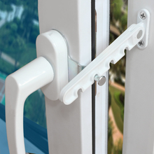 New window limiter latch position stopper casement wind brace home security door and windows Sash Lock Child Safety protection