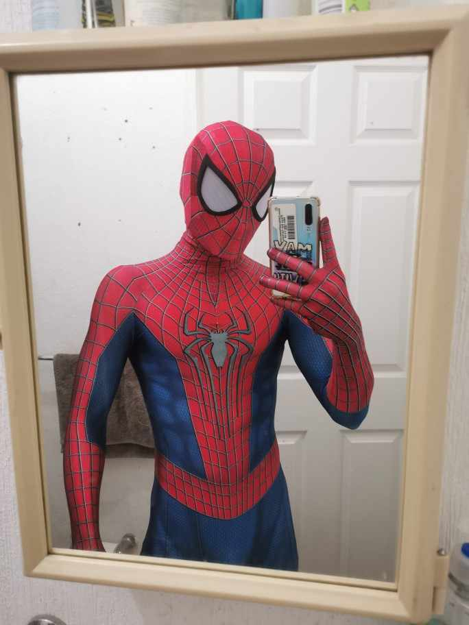 L'incroyable Spiderman déguisement Halloween TASM2 Zentai Spiderman Cosplay Costume 3D impression Lycra complet du corps Spidey Costume