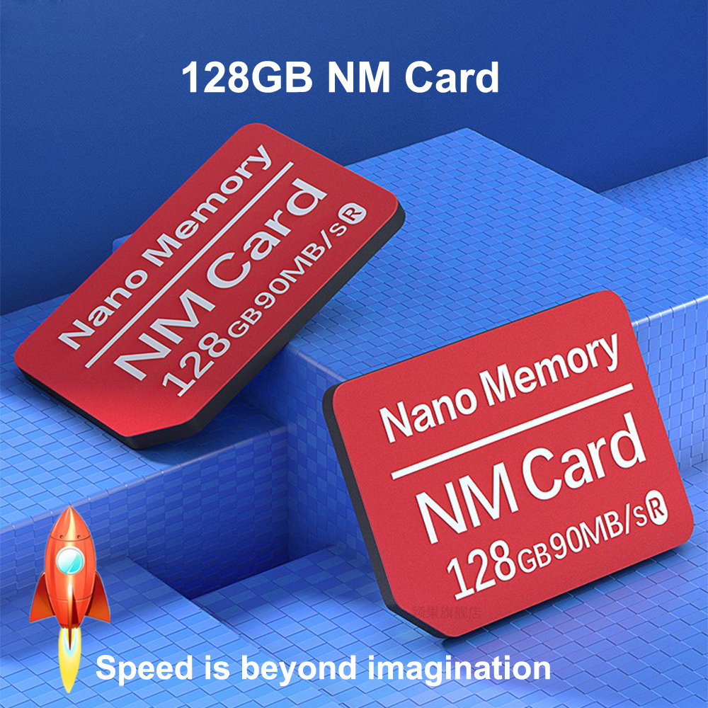 20 NM Card Nano Memory Card 128GB 90MB/S For Huawei Mate 20 Pro Mobile Phone Computer Dual-use USB3.0 High Speed TF NM-Card Reader (2)
