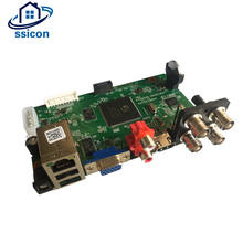 SSICON 4CH DVR Hybird NVR Board 4Channel 1080N Surveillance Security CCTV Recorder Board With HDD Cable for 1080P Analog Camera