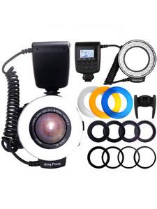 Speedlite Flash-Light Macro-Ring RF-550D Nikon Sony Hotshoe Olympus Canon Panasonic Pentax