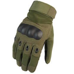 Армейские военные тактические перчатки для мужчин зимние полный палец жесткие перчатки с защитой суставов Пейнтбол пистолет для