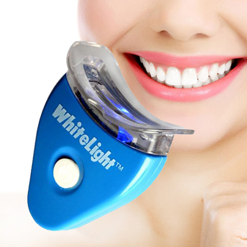 Electric Dental Teeth Whiting Kit Including Battery Original White LED Light Tooth Whiten Toothpaste Gel Whitener Oral Care