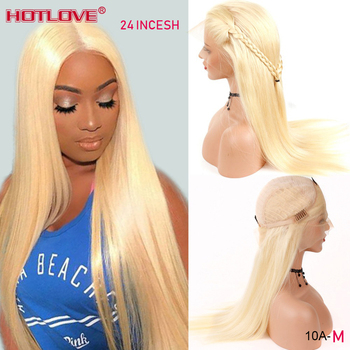 613 Honey Blonde Lace Front Human Hair Wigs Brazilian Straight Hair 13x4 Lace Front Wigs Remy 150% Density 613 Blonde Hair Wig lynlyshan straight peruvian remy human hair 613 blonde wigs 150
