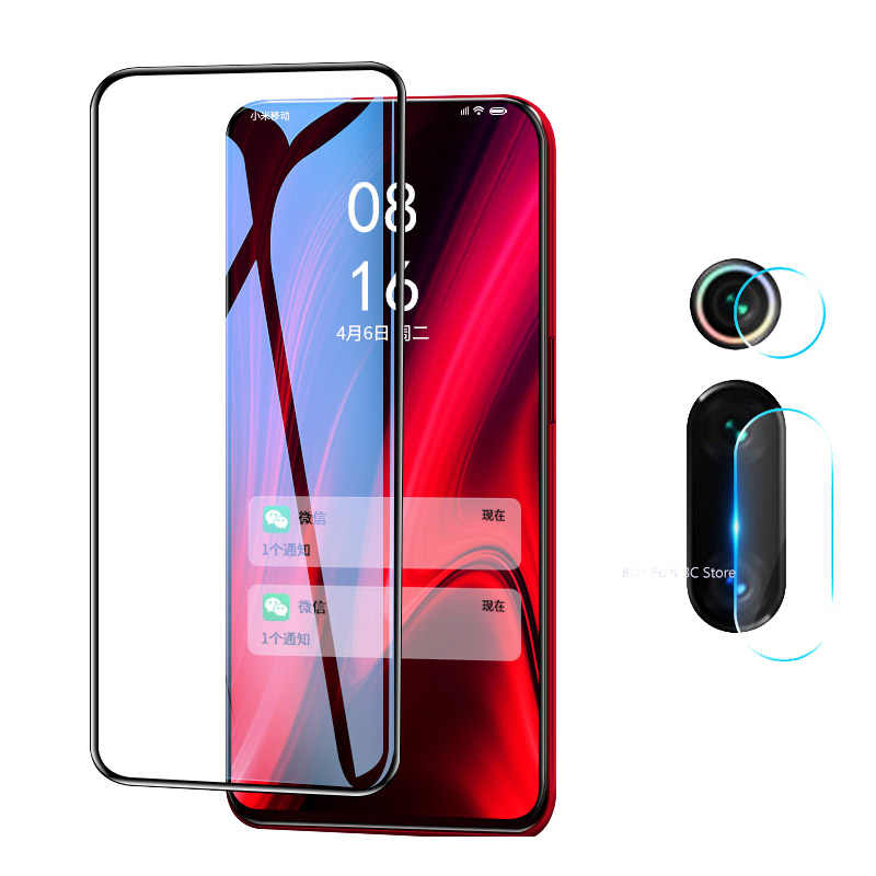 2 in 1 Protective Glass For Xiaomi Mi 9T K20 Pro Camera Lens Screen Protector Safety Film On Redmi Red mi K20 Pro Tempered Glass
