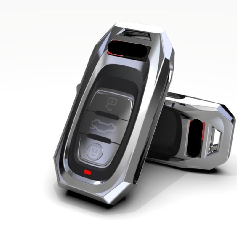 New Fashion Remote Smart Key Cover Case Shell For Audi A1 A3 A4 A5 A6 A7 A8 Quattro Q3 Q5 Q7 2009 2010 2011 2012 2013 2014 2015