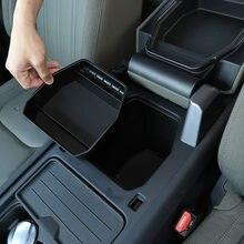 Boîte de rangement pour Land Rover defender 110 2020 – 2021, boîte de rangement centrale pour voiture ABS noir, boîte de rangement pour accoudoir, gant de téléphone, accessoires de voiture
